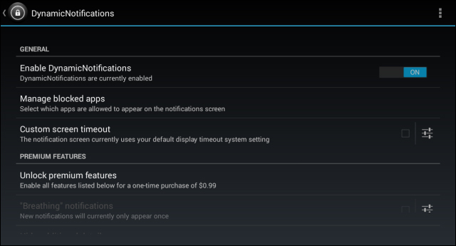 Android-Dynamic-Notifications-settings