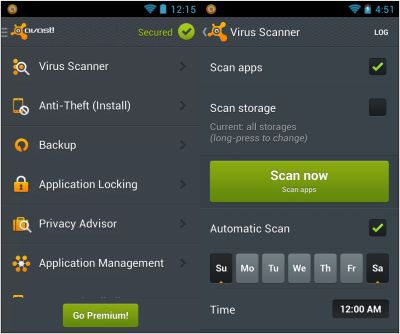 Information to Antivirus App For Android Antivirus for Google android
