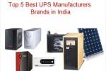 UPS & Inverter Manufacturers in India