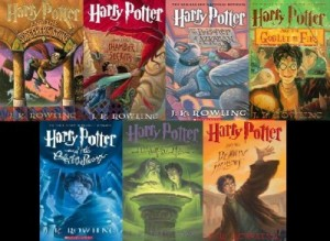 Harry-Potter-series-books--J-K-Rowling