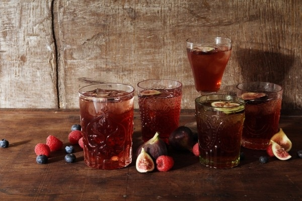Mixed Berry and Fig Old Fashioned