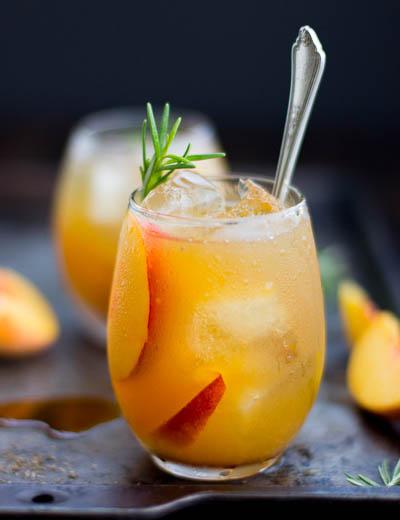 Rosemary-Peach-Maple-Leaf-Cocktail