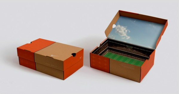 Stadium Shoebox Packaging
