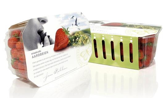 Strawberries Packaging