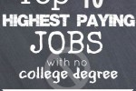 Best Paying Jobs no College Degree