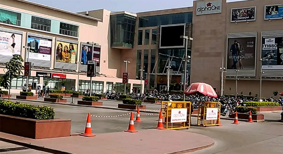 AlphaOne Mall Gujarat in India