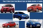 Best diesel car in india below 6 lakhs