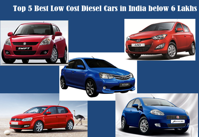 Diesel hatchback cars in india under 6 lakhs
