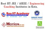 Best IIT-JEE Engineering Coaching Institutes in Kota
