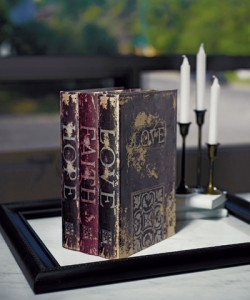 book shaped boxes