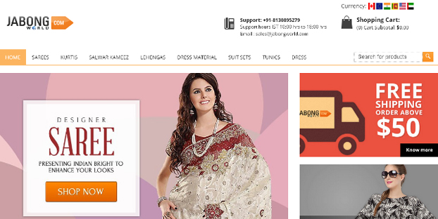 Jabong Women Shopping site