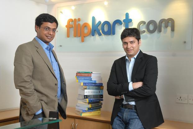 Flipkart Founders Sachin Bansal and Binny Bansal