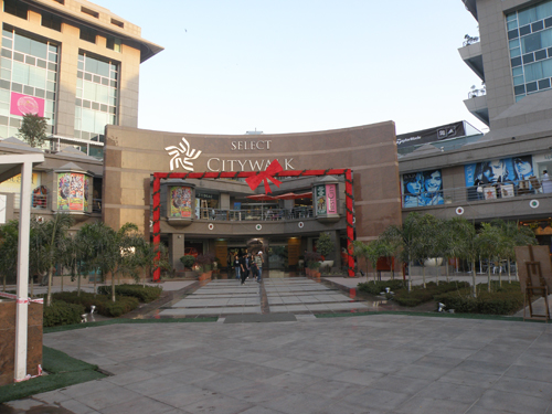 Select Citywalk mall New Delhi