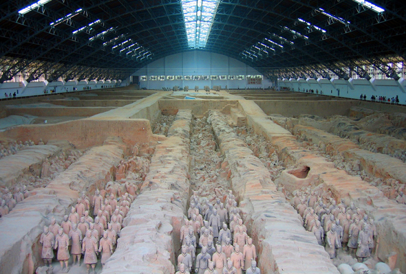 Terra Cotta Warriors, Xi'an