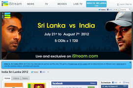Watch Cricket Online on iStream