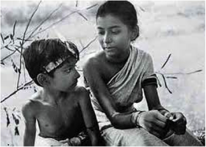 Pather Panchali in black & white