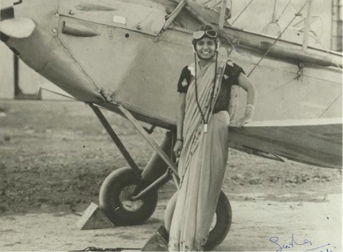 First Woman Pilot of India