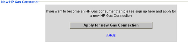 Apply for new Hp gas collection