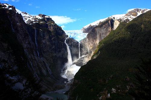 Cascada de Ventisquero Colgante, Chile