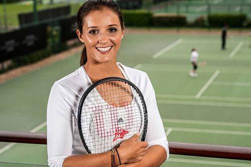 Laura Robson Tennis Player