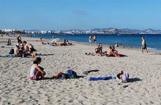 Playa d'Es Cavallet, Spain, beach