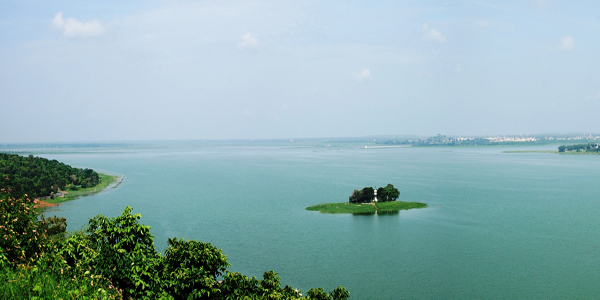 Upper lake in Bhopal