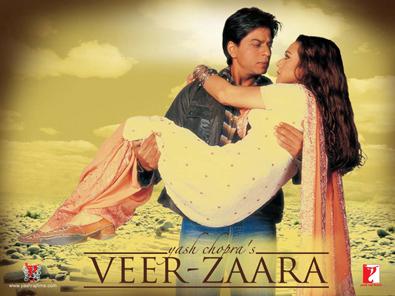 Veer Zaara Shahrukh Khan of moive