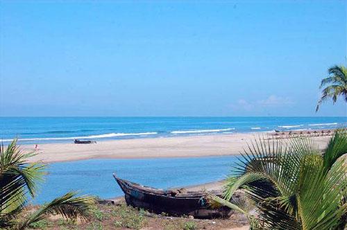 Arambol Beach, Goa in India