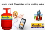 How to check Bharat Gas online booking