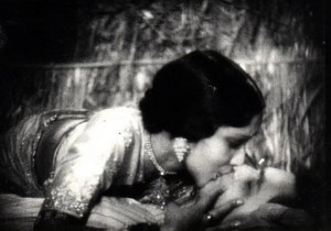 Himanshu Rai and Devika Rani Frist Kiss