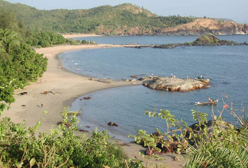 Om Beach, Gokarna, Uttara Kannada