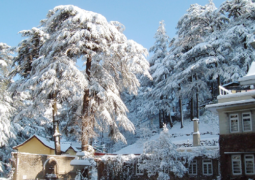 Shimla Winter Holiday Destination
