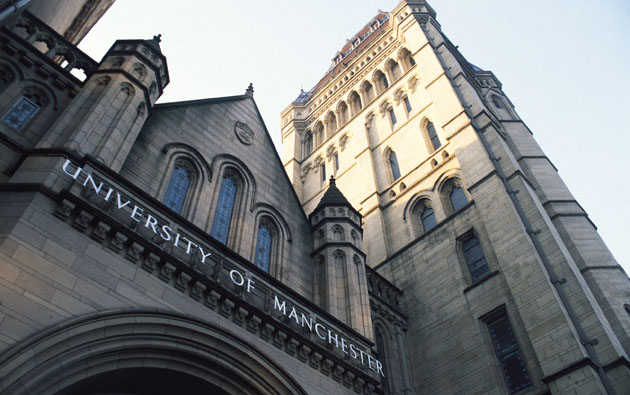 University of Manchester UK