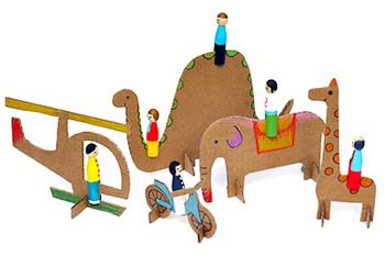 Craft materials toys