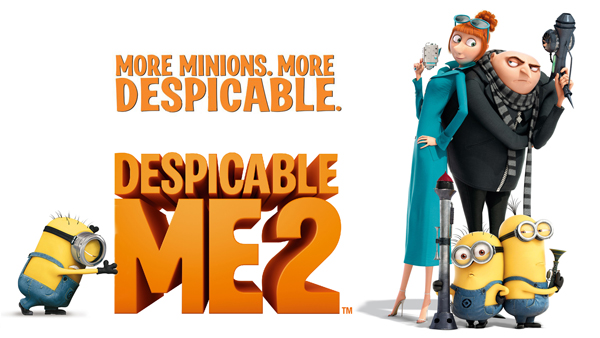 Despicable Me 2 movie 2013