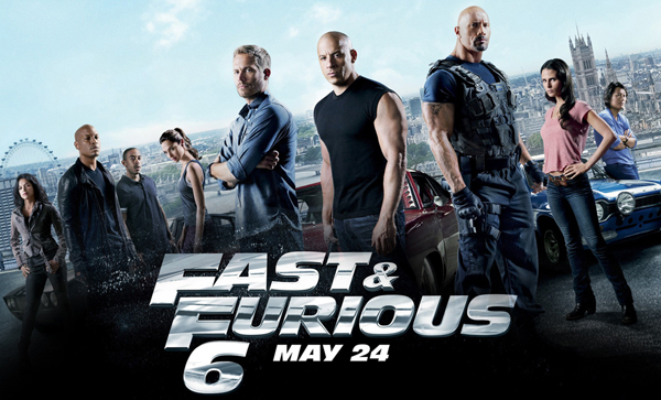 Fast and Furious 6 movie 2013
