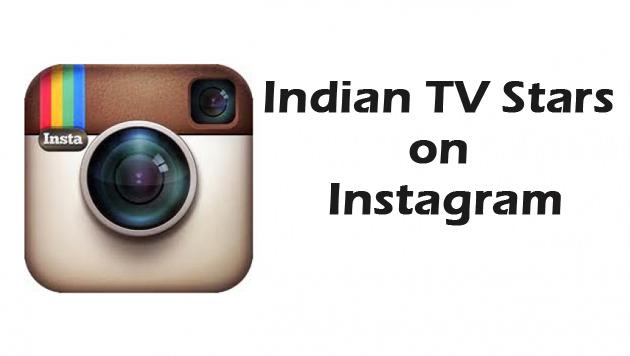 Indian TV Stars on Instagram