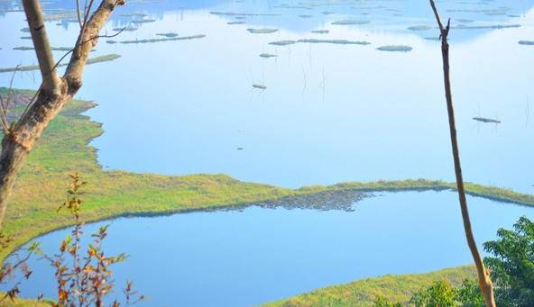 Loktak Lake Islands