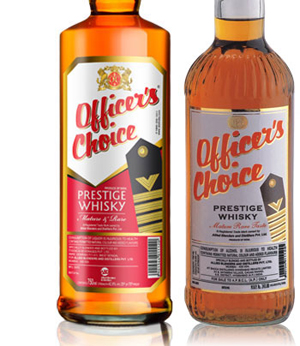 Officer's Choice Whisky