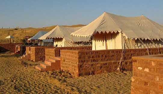 Osian Camp in Jodhpur, Rajasthan