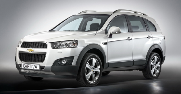 Chevrolet Captiva SUV