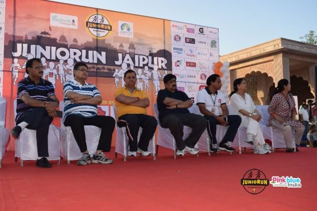 Jaipur Children Ran in Juniorun Marathon