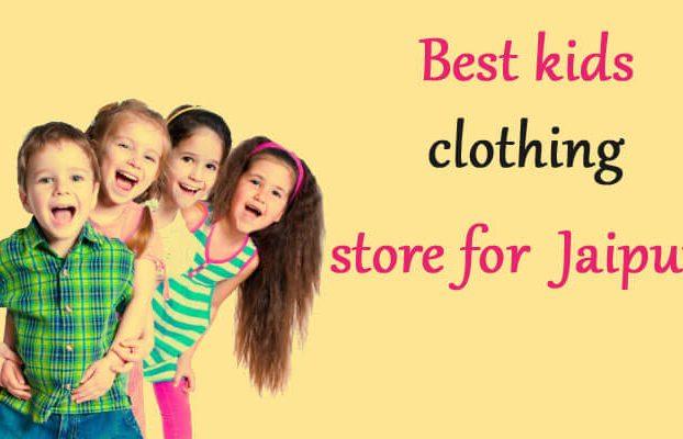 best designer children's fashion boutiques in Jaipur