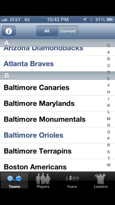 Baseball-Statistics-iphone-app