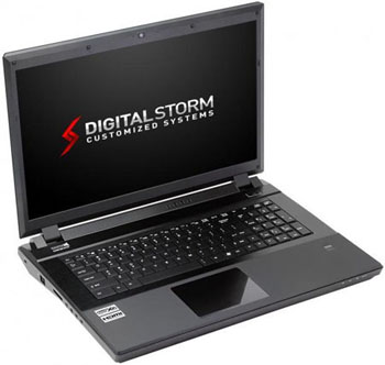 Digital Storm x17 Gaming Laptops