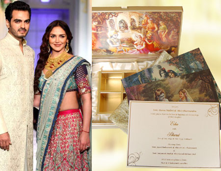 Esha-Deol-and-Bharat-Takhtani-wedding-card