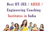 Best IIT-JEE Engineering Coaching Institutes in India