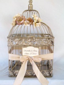 Bird cages Card box