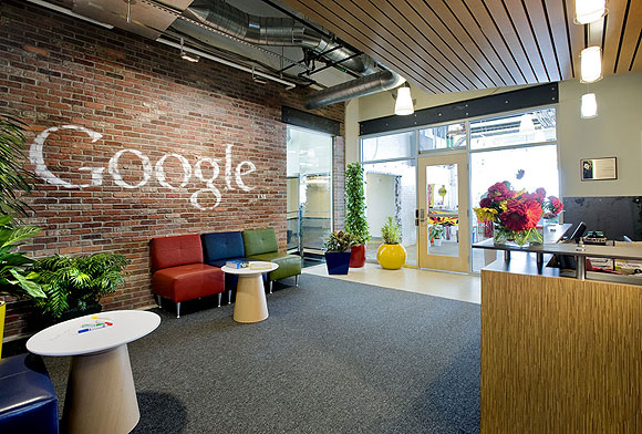 Google Company office