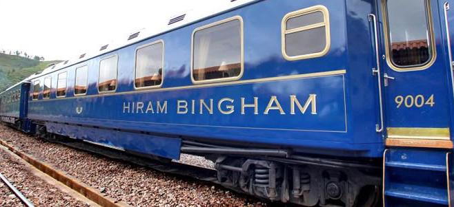 Hiram-Bingham luxury trains